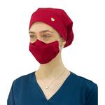 Touca - Máscara Vermelha