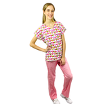Pijama Cirúrgico Feminino - Corujas 4
