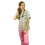Pijama Cirúrgico Feminino - Gueixa Digital 3