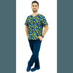 Pijama Cirúrgico Masculino - Dino Digital 1