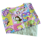 Pijama Cirúrgico Feminino - Peça única promocional - Fadas 01