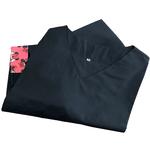 Pijama Cirúrgico Feminino - Peça única promocional - Preto com detalhes em Minnie 07