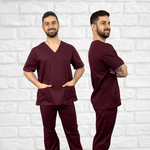 Pijama cirúrgico tradicional - liso / estampa comum - pedido interno