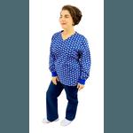 Pijama Cirúrgico Feminino - Dentes Digital 4