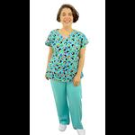 Pijama Cirúrgico Feminino - Gueixa Digital 5