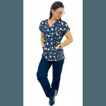 Pijama Cirúrgico Feminino - Pequeno Príncipe 2