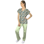 Pijama Cirúrgico Feminino - Cachorros Digital 3