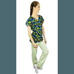Pijama Cirúrgico Feminino - Dino Digital 1