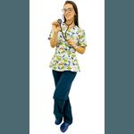 Pijama Cirúrgico Feminino - Dino Digital 2