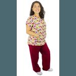 Pijama Cirúrgico Feminino - Matrioskas 01