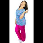 Pijama Cirúrgico Feminino - Matrioskas 02