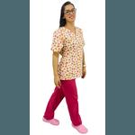 Pijama Cirúrgico Feminino - Elefantes 3