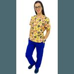 Pijama Cirúrgico Feminino - Patrulha Canina