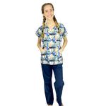 Pijama Cirúrgico Feminino - Peter Pan