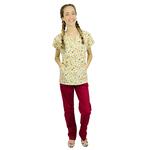Pijama Cirúrgico Feminino - Peça única promocional - Frutinhas