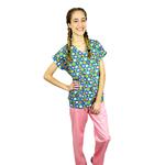 Pijama Cirúrgico Feminino - Peça única promocional - Bichinhos Digital 1