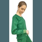 Scrub Feminino Trendy - Verde Oliva
