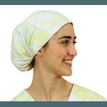 Touca de elástico - Tie Dye Verde
