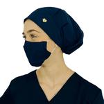 Touca - Máscara Azul Marinho