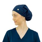 Touca de elástico - Azul Marinho