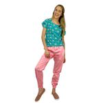 Pijama Cirúrgico - Trendy - Coruja Digital 08