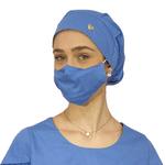 Touca - Máscara Azul Italiano