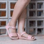 Sandália Magnética Energiflex Ninita Flamingo