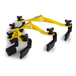 Kit 3 Puxadores Anatômicos Line Fitness P / M / G