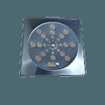 Grelha para Ralo Rotativo Inox Quadrada 15 cm