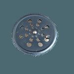 Grelha para Ralo Rotativo Inox Redonda 15 cm