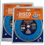 Kit 3 Disco Diamantado MAQUITÃO 230mmx10,0