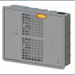 Caixa Padrão Uma Sabesp Para Hidrômetro TAF Plástico Cinza