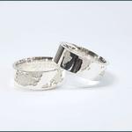 Alianças Hemisfério ♥ Namoro e Compromisso em Prata 0,950