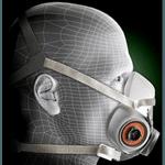 Máscara Semi Facial 6200 3M