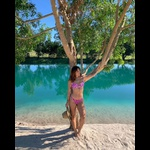 Conjunto Bahamas Oncinha Rosa ( Canelado)