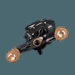 Carretilha Saint Plus Vizel Carbon 12000H - Direita - 12 rolamentos 8.1:1 Freio 8kg 183g
