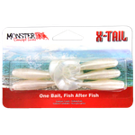 Isca Soft Monster 3x X-tail 8cm C/ 5un