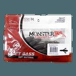 Isca Soft Monster 3x X-tube 9,5cm - 3 unid. Cor Manjuba