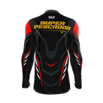 Camiseta Infantil Mar Negro Fishing Super Pescador 2021