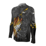 Camiseta Masculina Mar Negro Fishing Traíra 2021