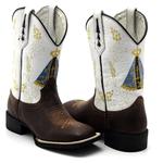 Bota Texana Franca Boots - NOSSA SENHORA APARECIDA