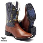 Bota Texana Franca Boots NOSSA SENHORA APARECIDA