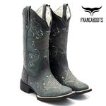 Bota Texana feminina Franca Boots hopper