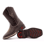 bota texana infantil bordada CROCO