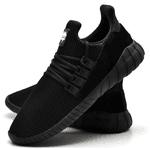 Tênis Caminhada Confortável All Black 15001