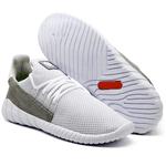 Tênis Caminhada Confortável Branco 15001