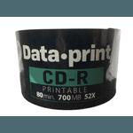 CD-R DATAPRINT 700MB / 52X - PRINTABLE C/600UN.