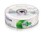 DVD+RW REGRAVAVEL ELGIN 4.7GB/ 4X. c/25UN.