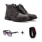 Combo Coturno 506 + Relogio+óculos