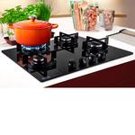 Fogão Mesa Glass 4 Bocas Gás FHG 604 3G TC FC 59x52cm - 16069